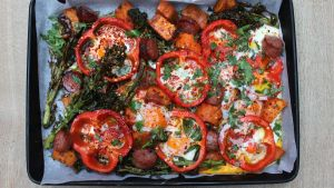 Sheet pan eggs: the ultimate breakfast for a jam-packed house