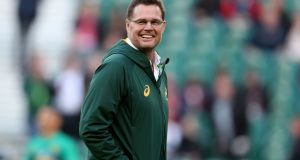 South Africa head coach Rassie Erasmus and his assistants will work with the country's four Super Rugby franchises ahead of the World Cup. Photograph: Billy Stickland/Inpho