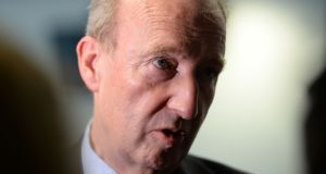 Shane Ross, Minister for Transport: proposals at an early stage. Photograph: Alan Betson / The Irish Times
