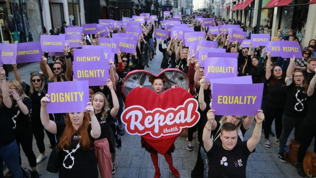 The successful Repeal the Eighth campaign here was powered by a new generation of clever and committed activists. Photograph: Nick Bradshaw