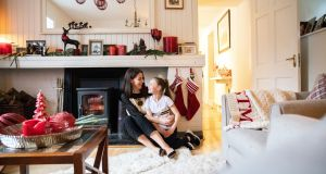 Helen Coughlan with her daughter Ava May at home in Glanmire, Co Cork. Photograph: Clare Keogh