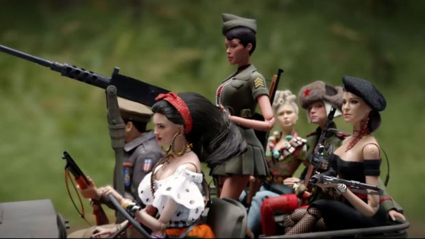 Dolls in 'Welcome to Marwen'