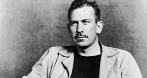 American author John Steinbeck (1902 - 1968). He won a Pulitzer Prize for his 1939 novel, 'The Grapes of Wrath,' and was awarded the Nobel Prize for Literature in 1962. Photograph: Hulton Archive/Getty Images