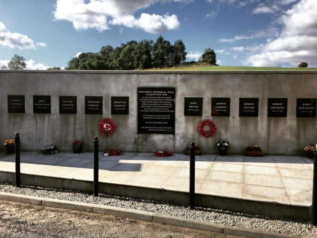 Ulster cycle: the Kingsmill massacre memorial in south Armagh