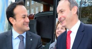 Leo Varadkar had asked Micheál Martin to agree to hold the next general election in the summer of 2020. File photograph: Bryan O'Brien