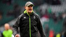 Ireland head coach Joe Schmidt is reported to have  turned down an offer to join the New Zealand coaching ticket last year. Photograph: Toby Melville/Reuters