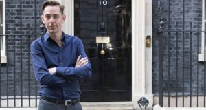 Ryan Tubridy, RTÉ's highest-paid presenter, pictured outside Number 10 Downing Street, London, in October.