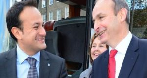 Fianna Fáil leader Micheál Martin has acted wisely by offering to extend the confidence and supply arrangement with the Fine Gael-led Government under Taoiseach Leo Varadkar for another year. Photograph: Bryan O'Brien