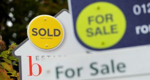 The average price of a house in the North in the third quarter was £135,060 (€149,000). Photograph: Andrew Matthews/PA Wire