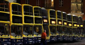Bus workers and drivers have been targeted in more than 1,000 anti-social behaviour incidents in the past 18 months. File photograph: Nick Bradshaw