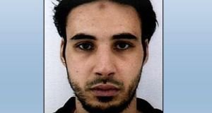 Handout picture released by French police of Cherif Chekatt, suspected of being the gunman involved in the Strasbourg shooting. Photograph: French police handout/AFP/Getty Images