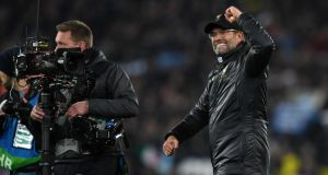 Liverpool manager Jurgen Klopp will be hoping his team can repeat last year's impressive Champions League run. Photograph: Getty Images
