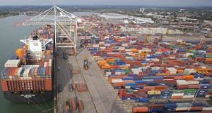 Exports of goods and services increased 1.5 per cent during the quarter