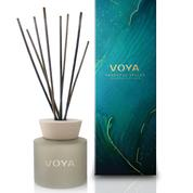 VOYA's Seasonal Spiced Reed Diffuser (€46) sharp orange, warm cinnamon, wood and clove aroma is perfect for the festive season