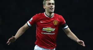 James Wilson is on his fourth loan from Manchester United. Photograph: Getty Images