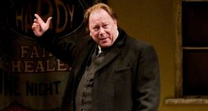 Owen Roe played the role of Frank Hardy in Faith Healer by Brian Friel, at the Gate theatre in 2010