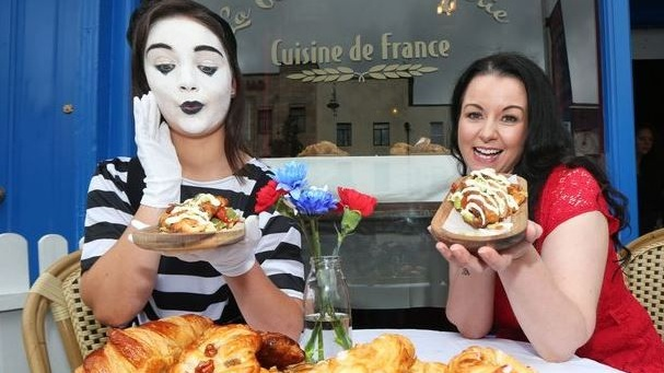 The Cuisine de France pop-up on Drury Street Dublin is raising money for CRMH Crumlin.