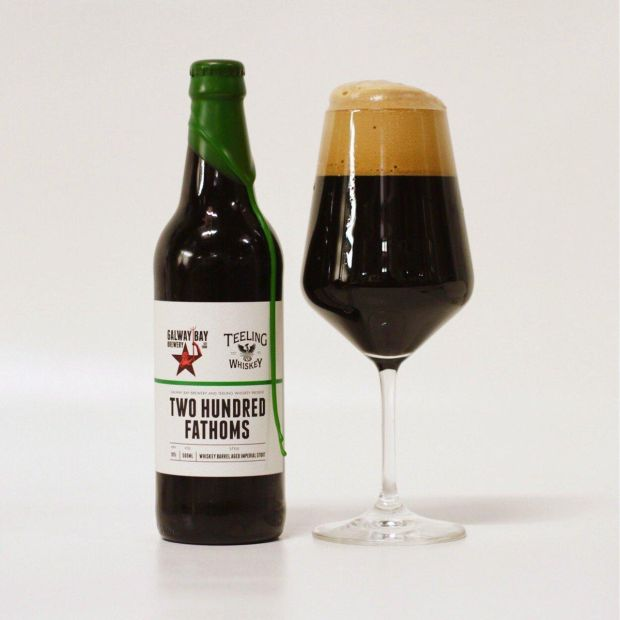 Galway Bay's 200 Fathoms, an imperial stout that is released just once a year