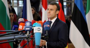 France's president Macron is deeply unpopular, and his efforts to placate the national protests through the narrow gauge lens of economics have thus far made things worse. Why? Photograph:  Getty Images