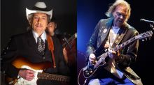 Bob Dylan and Neil Young announce major concert in Ireland