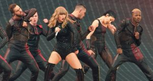 Taylor Swift performing at Croke Park in June. Photograph:  Dave Meehan/The Irish Times