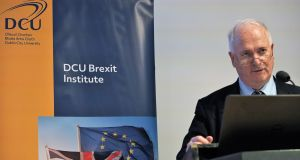 "John Bruton,   speculated on an 8 per cent fall in GDP in the UK after Brexit, together with serious inflation and unemployment that would lead to ""deep bitterness, alienation and anger that will go on and on in future generations""."