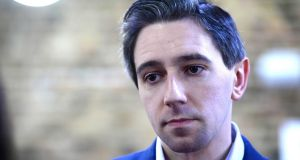 Minister for Health Simon Harris:  to bring a memo to Cabinet next week on new cost estimates for the facility at  St James's Hospital in Dublin.  Photograph: Cyril Byrne
