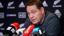 New Zealand head coach Steve Hansen will step down after next year's World Cup in Japan. Photograph: Oisín Keniry/Inpho