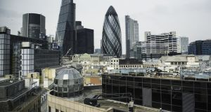 City of London. A number of London's financial institutions have moved part of their operations and staff to cities such as Dublin, Paris and Frankfurt to preserve passporting rights and access to the single market following the UK's scheduled departure from the EU
