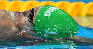 Ireland's Shane Ryan won a bronze medal in China on Friday. Photograph: Getty Images