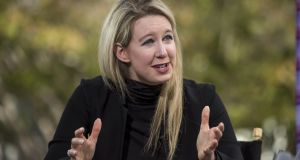 'Bad Blood: Secrets and Lies in a Silicon Valley Startup' by John Carreyrou chronicles the rise and spectacular fall of the blood-testing startup founded by Elizabeth Holmes.  Photograph: David Paul Morris/Bloomberg via Getty Images