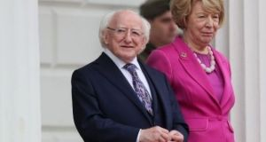 "President Michael D Higgins' spokesman said he ""has been, and remains, concerned at recent reports in relation to the organisation"".  Photograph: PA"