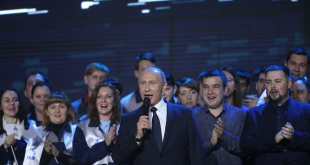 Russia v the West: Vladimir Putin's new cold war