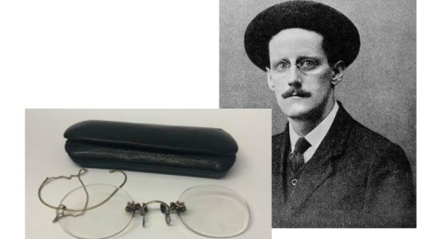 James Joyce and the glasses which made €17,000 at Fonsie Mealy