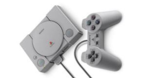 Sony's PlayStation Classic copies details including the power, open and reset buttons on the top of the console.