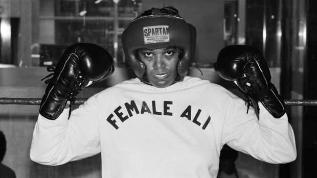 Jackie Tonawanda was a trailblazer in the 1970s, taking a case against the state of New York for the right to box. Photograph: Monte Fresco/Mirrorpix/Getty Images.