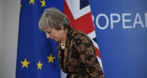 British Prime Minister Theresa May will make a statement to parliament about the summit on Monday and take questions from MPs about the future of her Brexit deal. Photograph: John Thys / AFP/Getty Images