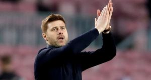 Tottenham manager Mauricio Pochettino suggested he was as concerned to move on players who are on the fringes of the squad. Photograph: Reuters