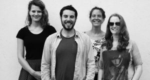 Avant-folk group Clang Sayne collaborate with French sculptor Guy Urbin in Sounding Seams, a free afternoon performance at the Irish National Heritage Park in Wexford on Sunday.