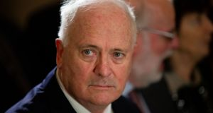 John Bruton: 'I think the DUP veto wouldn't apply, essentially (if they took their seats),' he said. Photograph: Tom Honan/The Irish Times.