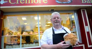 "Pat Byrne, award-winning baker of Cremore Bakery in Glasnevin: ""I'd say there are 200 jobs at the moment that can't be filled."" Photograph: Bryan O'Brien"