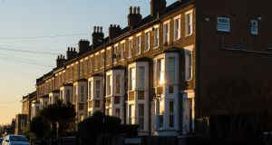 Overseas landlords are beating a retreat from Britain's property market. Photograph: Dominic Lipinski/PA Wire