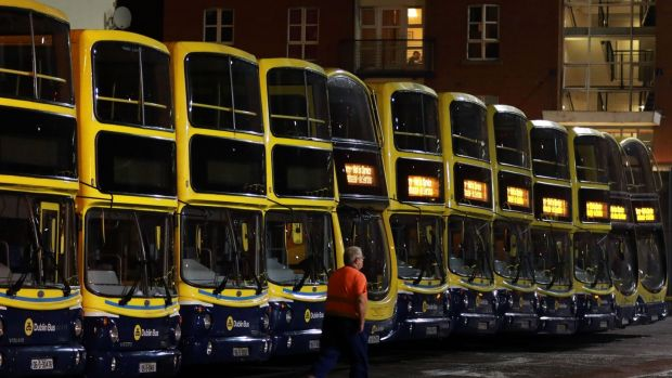 A €2 billion Bus Connects scheme was published in June. Photograph: Nick Bradshaw/The Irish Times