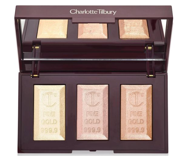 Charlotte Tilbury Bar of Gold Highlighter Palette (?55 at charlottetilbury.com and stockists nationwide)
