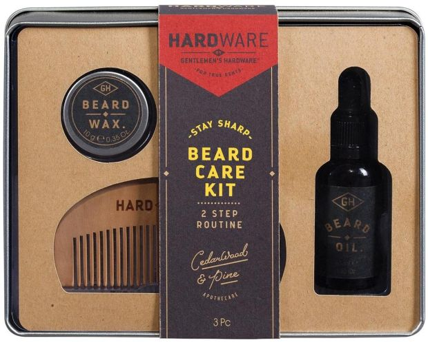 GentlemanÕs Hardware Beard Grooming Kit (Û16 at Boots)