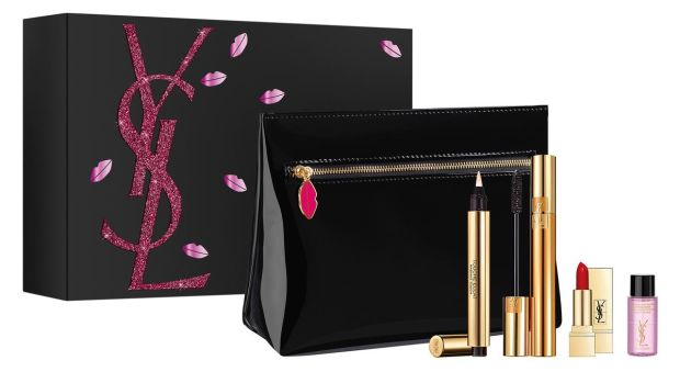 YSL Luxurious Cosmetic Pouch (Û67.50 at Brown Thomas)