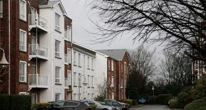 Apartment owners at St James's Wood in Kilmainham are facing a €3 million bill to remedy remedy fire-safety issues. Photograph: Nick Bradshaw/The Irish Times
