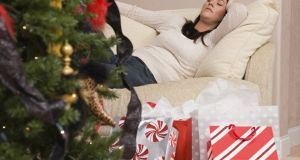 'I'm utterly exhausted. I do all the shopping and wrapping'