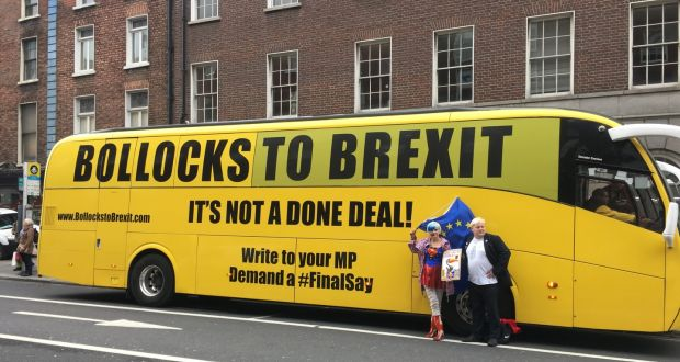 caa02984c7 Bollocks to Brexit  campaigners on whistlestop tour to Dublin