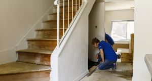 There can be a surprising amount of space under a staircase. Photograph: Getty Images